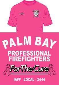 Palm Bay Firefighters ForTheCure, artlab, artlab printing