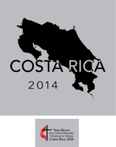 Costa Rica Mission Trip T-shirts