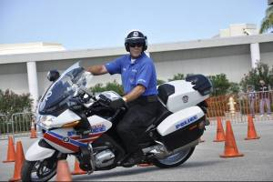 Space Coast Motor Officers demonstration